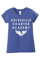 RCA Girl's/Ladies District Concert Tee - Choice of Logo