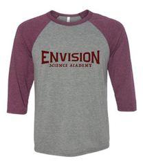 Envision Science Academy Raglan Spirit Shirt