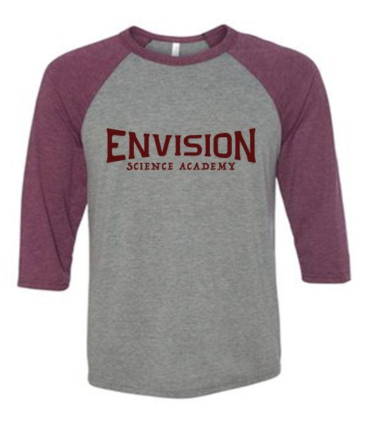 Envision Science Academy Raglan Spirit Shirt