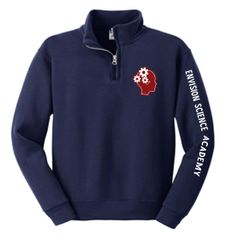 Envision Science Academy Uniform Approved Cadet Collar Sweatshirt