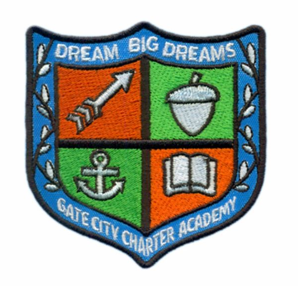 Gate City Charger Academy Crest