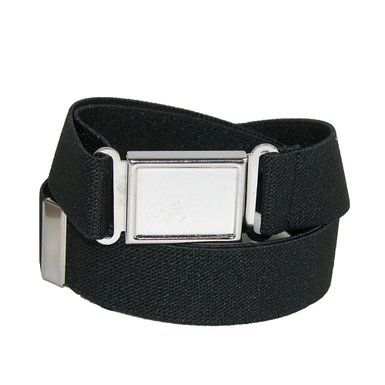 CTM® Kids Elastic 1 Inch Adjustable Belt with Magnetic Buckle