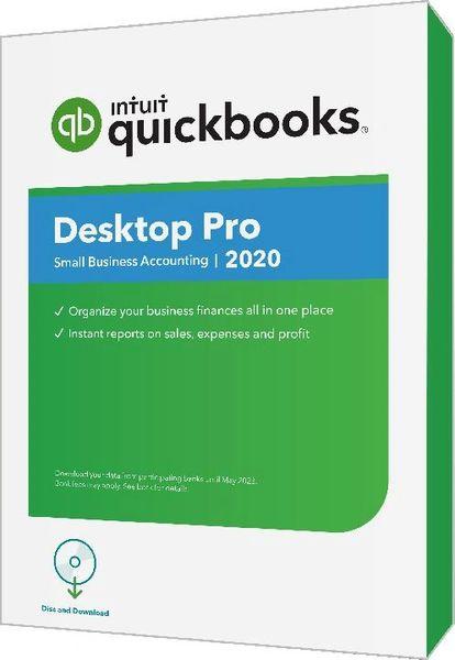 QuickBooks Pro 2020 Desktop Download 1, 2 or 3 User Editions