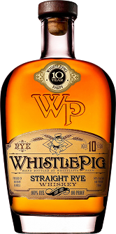 Whistle Pig Straight Rye Whiskey 10 Years Old