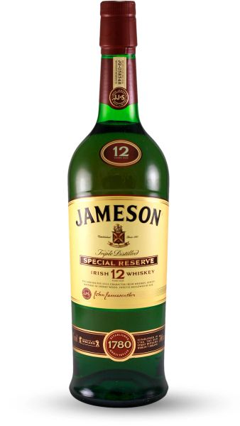 Jameson 12 Year Old Irish Whiskey