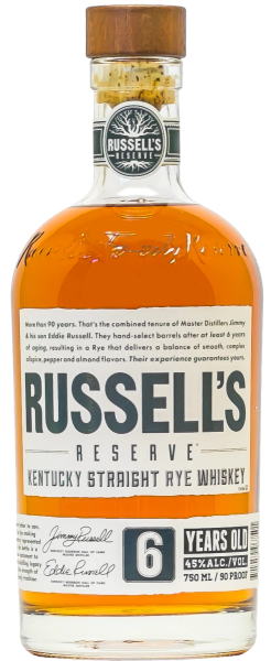 RUSSELL'S RESERVE 6 YEAR OLD RYE