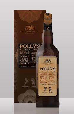 Polly's Casks Double Barrel Aged Single Malt Scotch Whisky