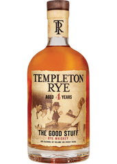Templeton 4 Year Rye Whiskey