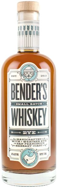 Bender's Small Batch Rye Whiskey