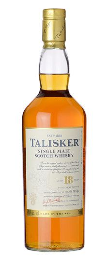 Talisker 18 Year Single Malt Scotch Whisky