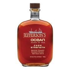 Jefferson's Ocean Aged at Sea Cask Strength Straight Bourbon Whiskey