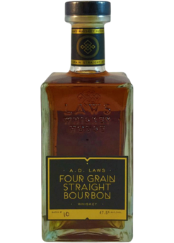 A.D. Laws Four Grain Straight Bourbon Whiskey