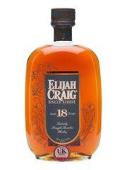 Elijah Craig 18 Year Single Barrel Bourbon Whiskey