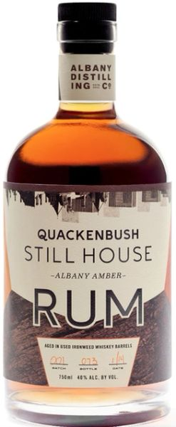 Quackenbush Still House Amber Rum - Albany Distilling Co.