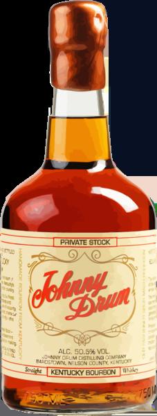 Johnny Drum Private Stock Kentucky Bourbon Whiskey