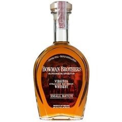 Bowman Brothers Pioneer Spirit Small Batch Virginia Straight Bourbon Whiskey