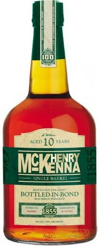 Henry McKenna Single Barrel 10 Year Kentucky Straight Bourbon