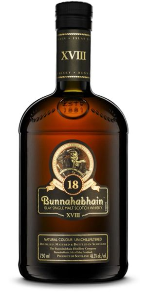 Bunnahabhain 18 Year Single Malt Scotch Whisky