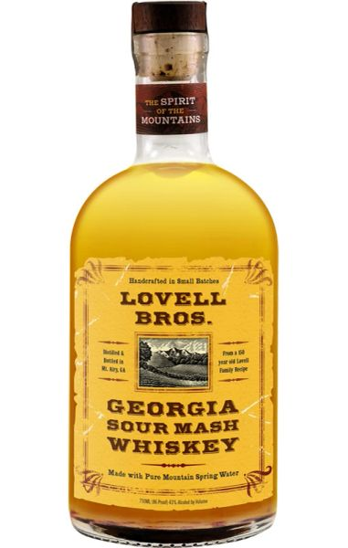 Lovell Bros. Georgia Sour Mash Whiskey