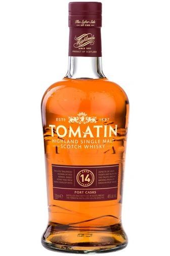 Tomatin 14 Year Port Cask Finish Single Malt Scotch Whisky