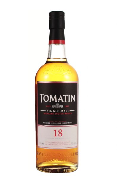 Tomatin 18 Year Old Single Malt Scotch Whisky