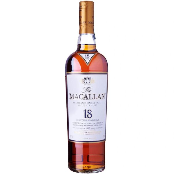 The Macallan 18 Year Sherry Oak Single Malt Scotch Whisky