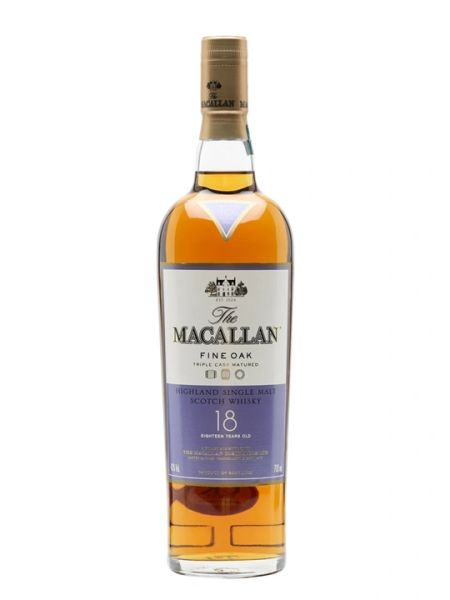The Macallan 18 Year Fine Oak Single Malt Scotch Whisky