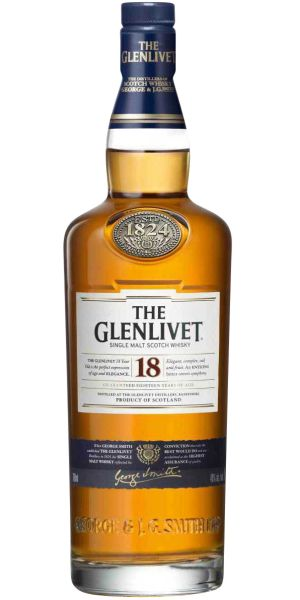 The Glenlivet 18 Year Old Single Malt Scotch Whisky