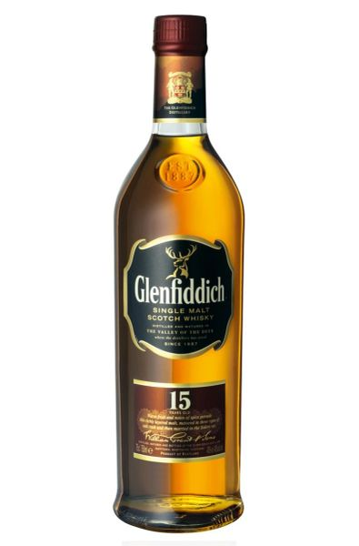 Glenfiddich 15 Year Single Malt Scotch Whisky