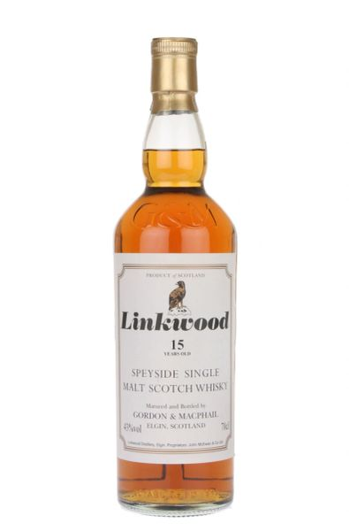 Gordon & Macphail Linkwood 15 Year Speyside Single Malt Scotch Whiskey