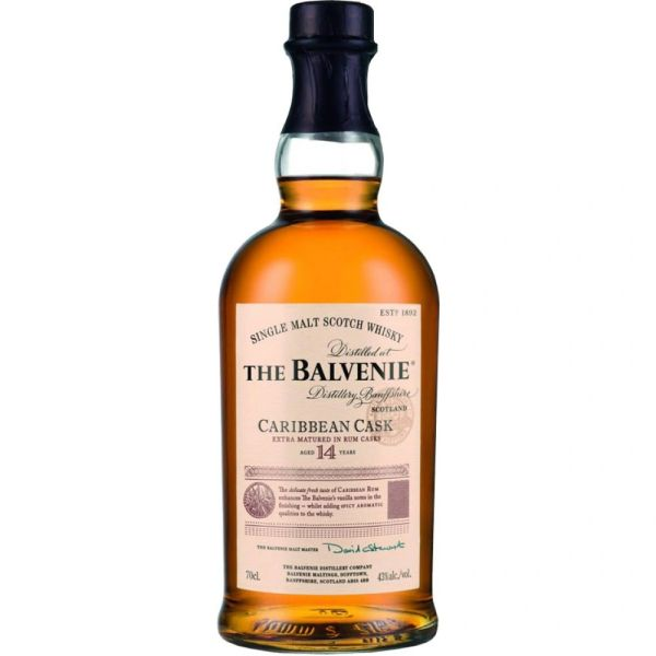 The Balvenie 14 Year Caribbean Cask Single Malt Scotch Whisky