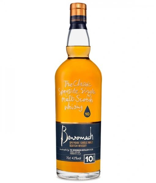 Benromach 10 Year Speyside Single Malt Scotch Whisky