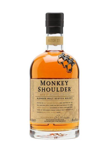 Monkey Shoulder Triple Blended Malt Scotch Whisky
