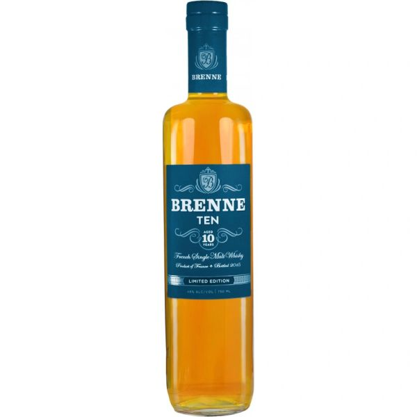 Brenne 10 Year French Single Malt Whisky