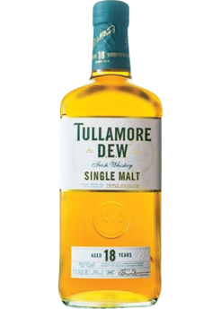 Tullamore Dew 18 Year Single Malt Irish Whiskey