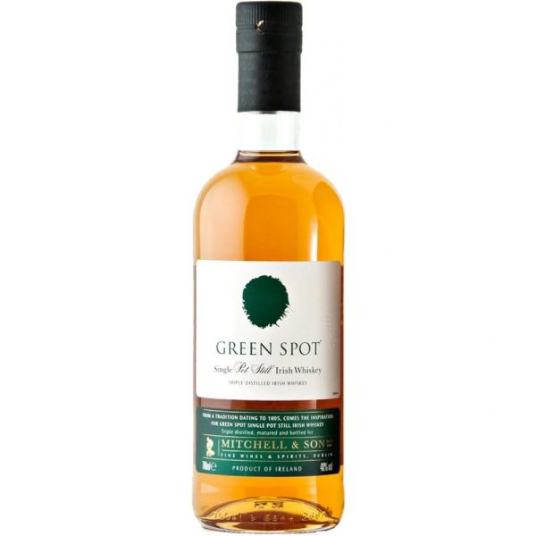 Green Spot Single Pot Still Irish Whiskey
