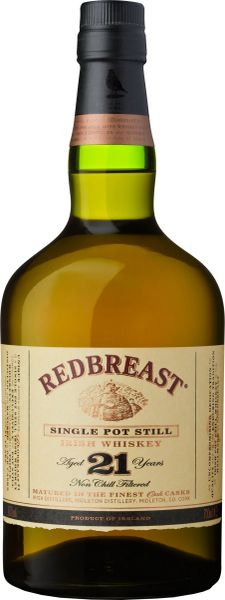 Redbreast 21 Year Single Pot Still Irish Whiskey