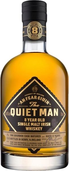 Quiet Man 8 Year Single Malt Irish Whiskey