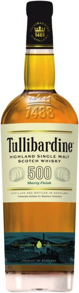 Tullibardine 500 Sherry Cask Finish Single Malt Scotch Whisky