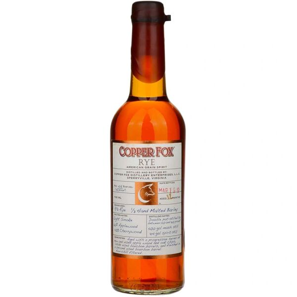 Wasmund's Copper Fox Rye Whisky