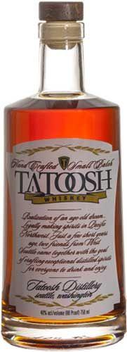 Tatoosh Small Batch Whiskey