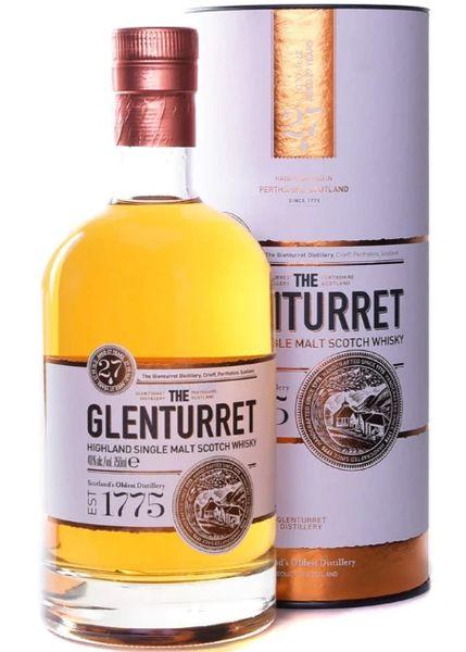 The Glenturret 27 Year Single Malt Scotch Whisky