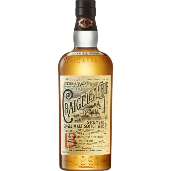Craigellachie 13 Year Single Malt Scotch Whisky
