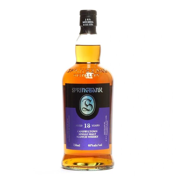 Springbank 18 Year Single Malt Scotch Whisky