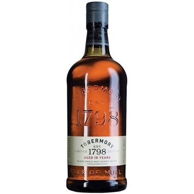 Tobermory 15 Year Single Malt Scotch Whisky