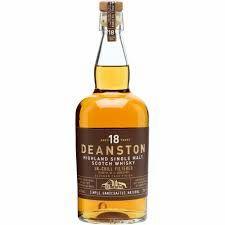 Deanston 18 Year Bourbon Cask Finish Single Malt Scotch Whisky