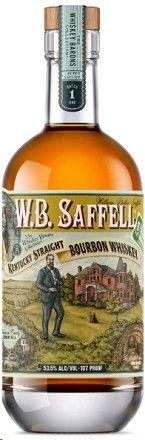 W.B. Saffell Bourbon 107'