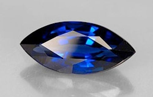 Marquise Faceted AAA Lab Created Blue Sapphire #34 (4x2mm to 24x12mm)