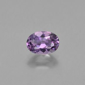 OVAL FACETED AAA BRIGHT PURPLE (NATURAL) AMETHYST (5x3-14x10mm)