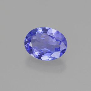 OVAL FACETED AAA BRIGHT (NATURAL) PURPLE BLUE TANZANITE (5x3-8x6mm)